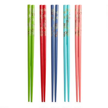 Floral Chopsticks, 2 Sets